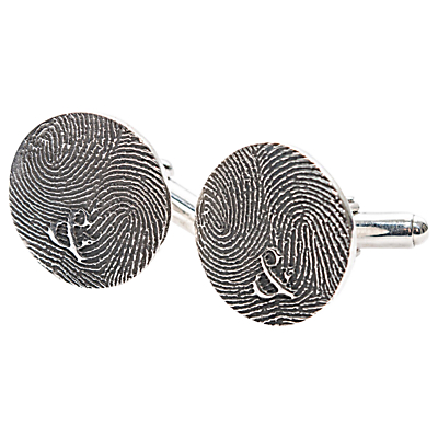 Morgan & French Personalised Round Fingerprint Cufflinks Review