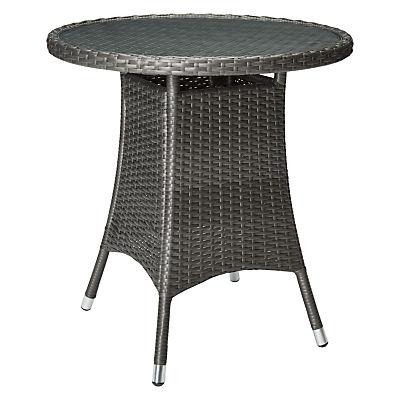 John Lewis Almeria Outdoor Bistro Table, Grey