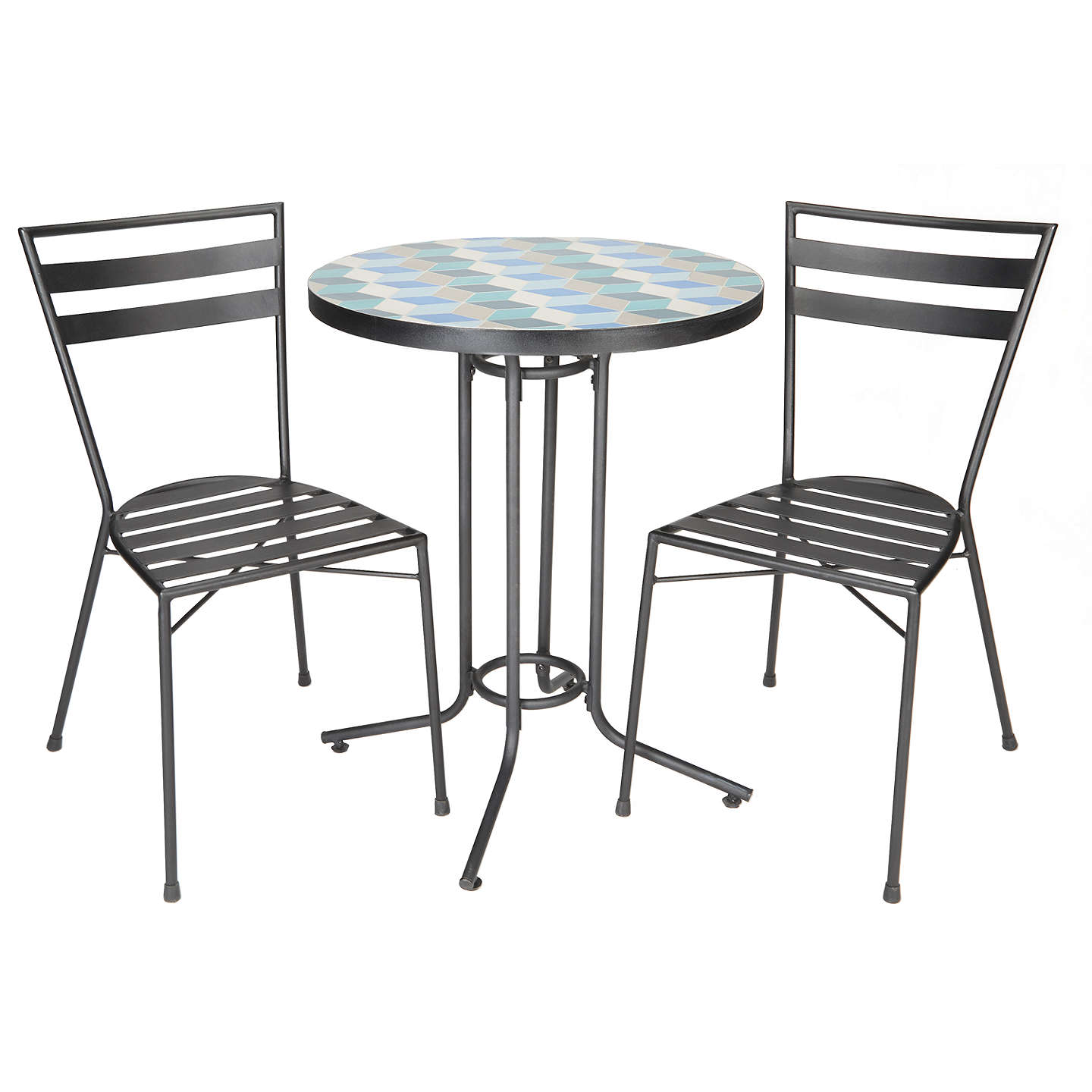 Garden Table And Chairs Set John Lewis: John Lewis Suri 2 Seater Mosaic Bistro Garden Table And