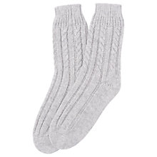 Buy L.K. Bennett Cosima Wool Rich Bedsocks Online at johnlewis.com