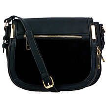 Buy Oasis Lucy Satchel Bag, Black Online at johnlewis.com