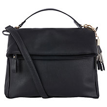 Buy Oasis Freddie Foldover Zip Satchel Online at johnlewis.com
