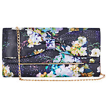 Buy Oasis Fairy Tale Bow Clutch Bag, Multi Online at johnlewis.com