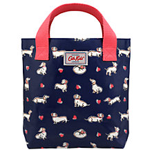 Buy Cath Kids Children's Dog Print Mini Bag, Blue Online at johnlewis.com