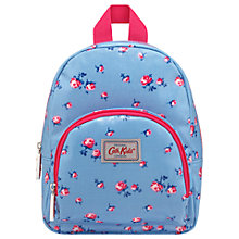 Buy Cath Kidston Children's Scattered Rose Mini Rucksack, Blue Online at johnlewis.com
