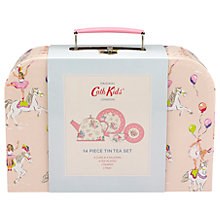 Buy Cath Kids Tin Prancing Ponies Toy Tea Set, Pale Pink Online at johnlewis.com