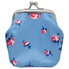 Buy Cath Kids Children's Scattered Rose Mini Clasp Purse, Blue Online at johnlewis.com