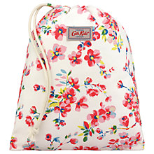Buy Cath Kids Children's Wellesley Blossom Print Drawstring Bag, Cream Online at johnlewis.com
