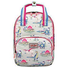 Buy Cath Kidston Children's Dinosaur Print Medium Backpack, Blue/Pink Online at johnlewis.com