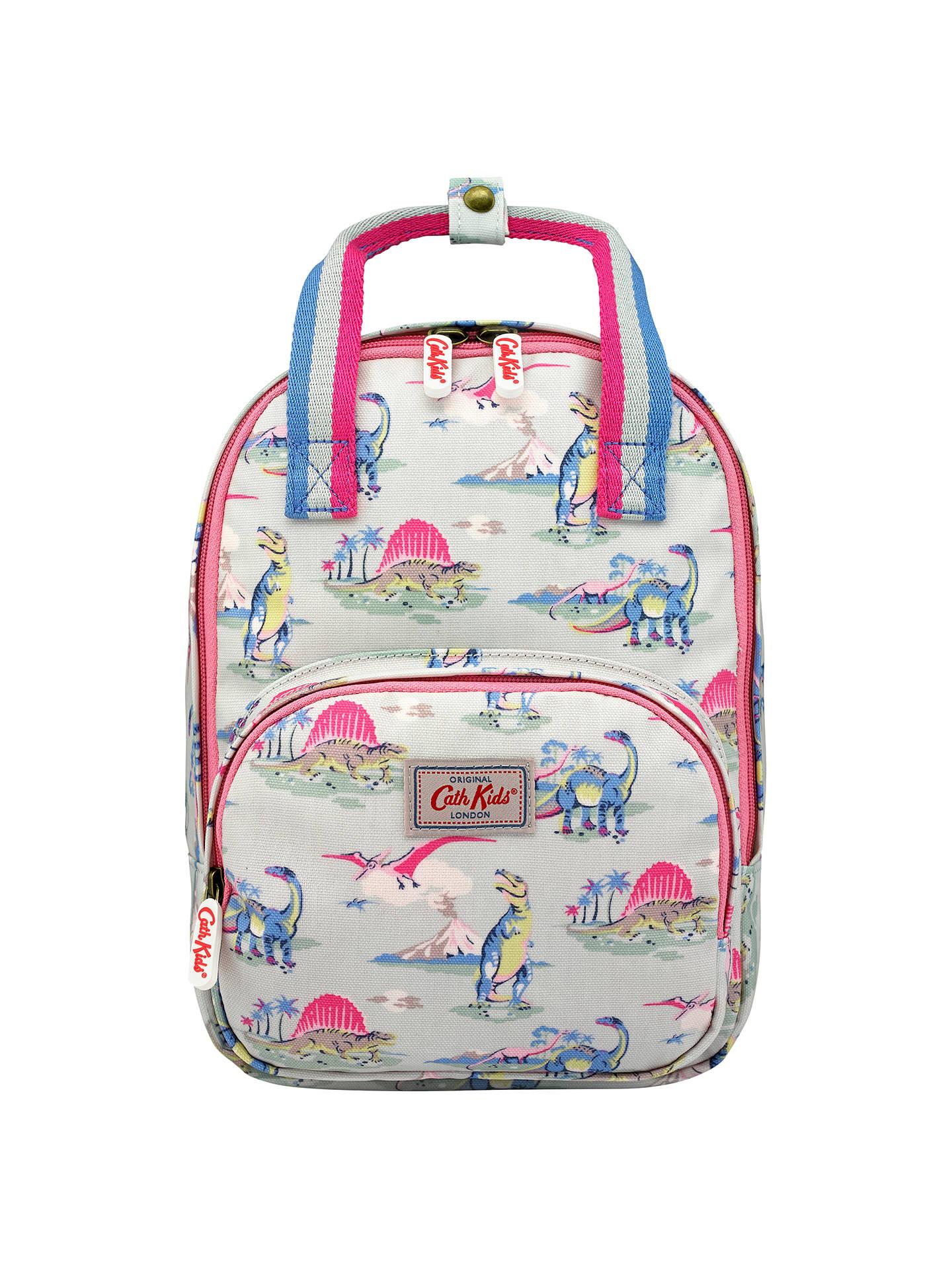 Cath Kidston Children S Dinosaur Print Medium Backpack Blue Pink At