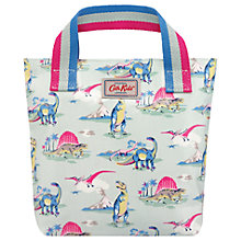 Buy Cath Kids Children's Dinosaur Print Mini Bag, Mint Online at johnlewis.com