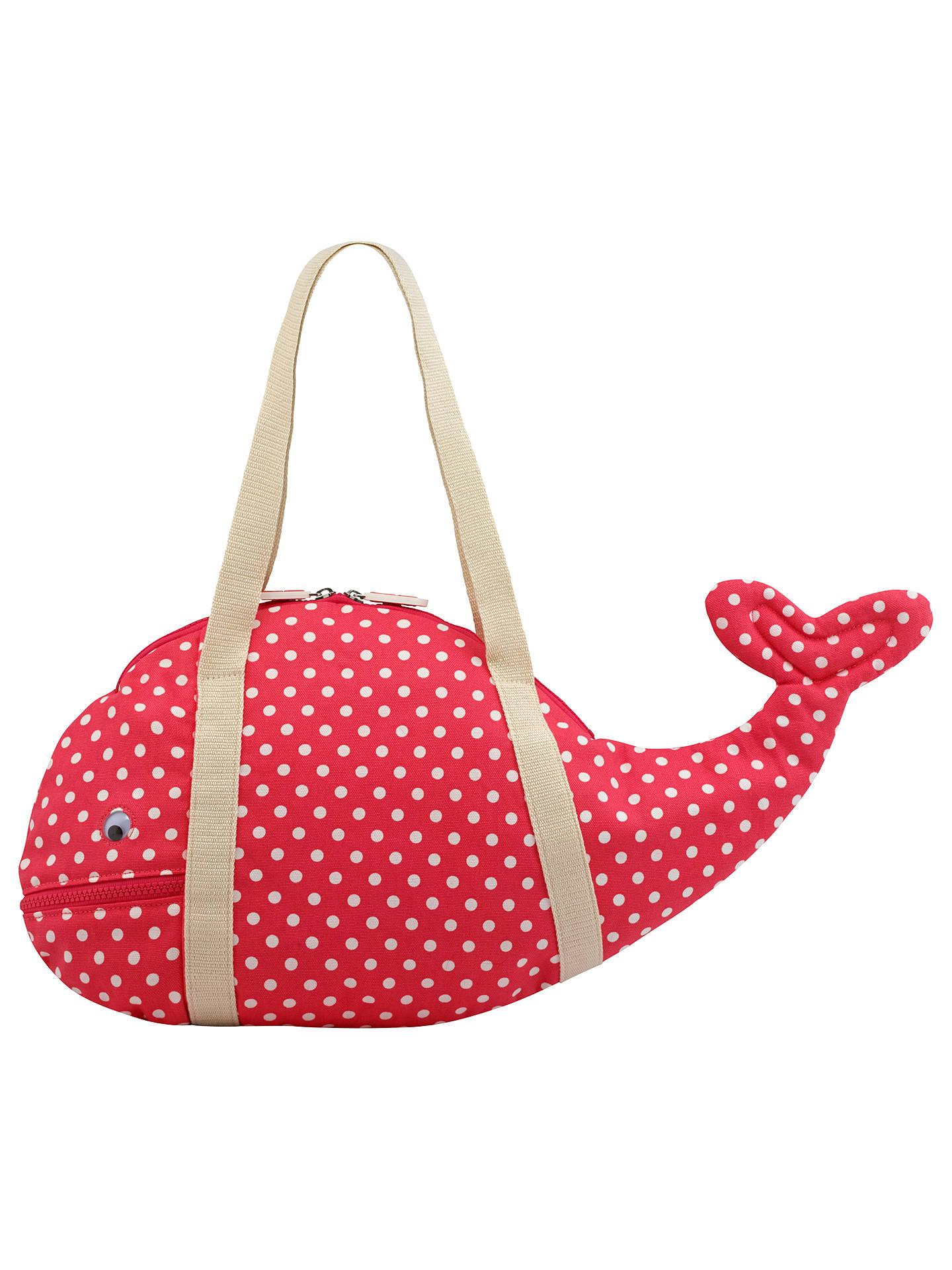 Cath Kids Children S Little Spot Novelty Whale Bag Red Online At Johnlewis