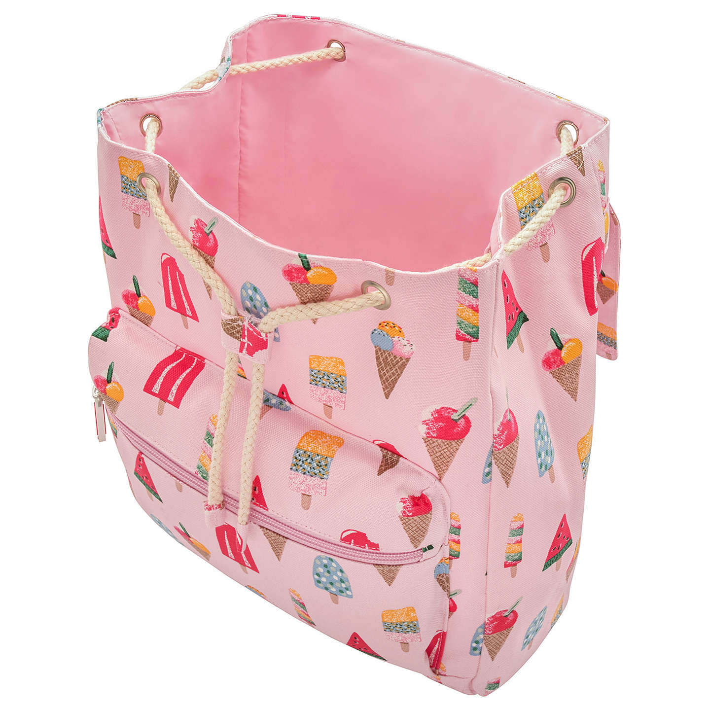 ... BuyCath Kidston Childrenu0027s Little Ice Cream Summer Backpack Pink Online at johnlewis.com  sc 1 st  John Lewis & Cath Kidston Childrenu0027s Little Ice Cream Summer Backpack Pink at ...