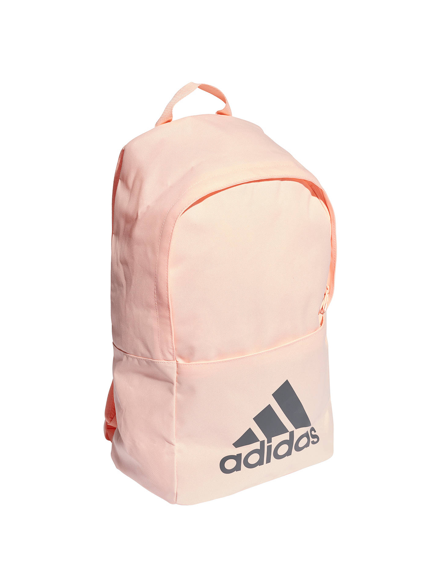 Buy adidas Classic Backpack, Orange Online at johnlewis.com