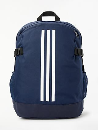 sale retailer 30586 f043d adidas 3 Stripes Power Backpack, Collegiate Navy. Quick view