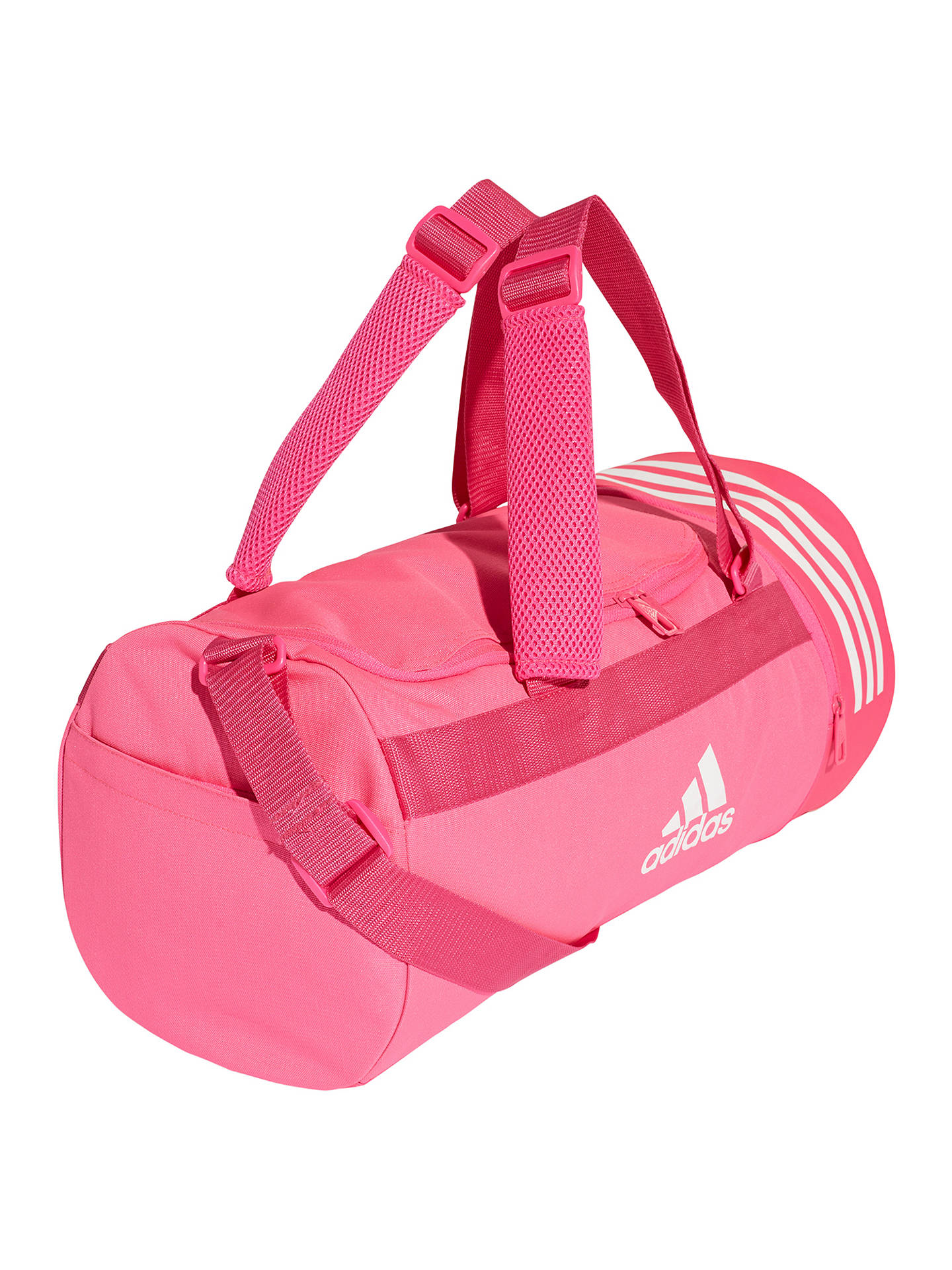 Buyadidas Duffle Bag, Shock Pink Online at johnlewis.com