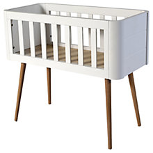 Buy Troll Retro Crib, White/Wood Online at johnlewis.com
