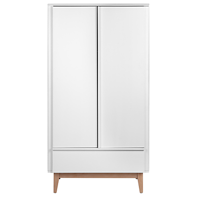 Troll Scandy Wardrobe, White/Wood