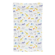 Buy John Lewis Safari Animal Changing Mat, Multi Online at johnlewis.com