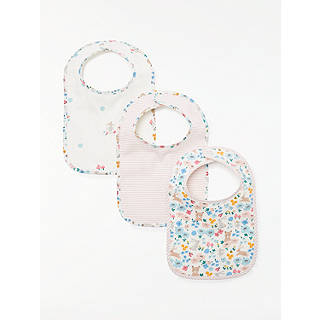 Easter toys soft cuddly chicks bunnies at john lewis john lewis baby bunny bibs pack of 3 multi negle Image collections