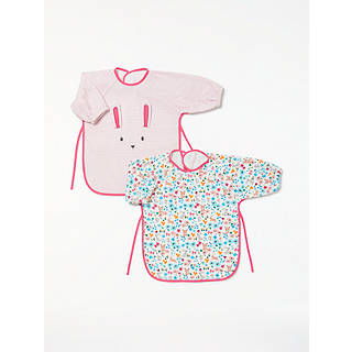 Easter gifts shop easter eggs decorations at john lewis john lewis baby classic bunny terry bibs pack of 2 multi negle Image collections