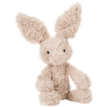 Buy Jellycat Mumble Bunny Soft Toy, Small, Beige Online at johnlewis.com