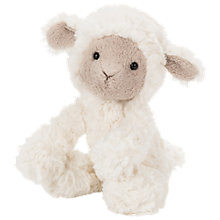 Buy Jellycat Mumble Lamb Soft Toy, Small, Cream Online at johnlewis.com