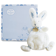 Buy Doudou et Compagnie Bonbon Rabbit, Blue Online at johnlewis.com