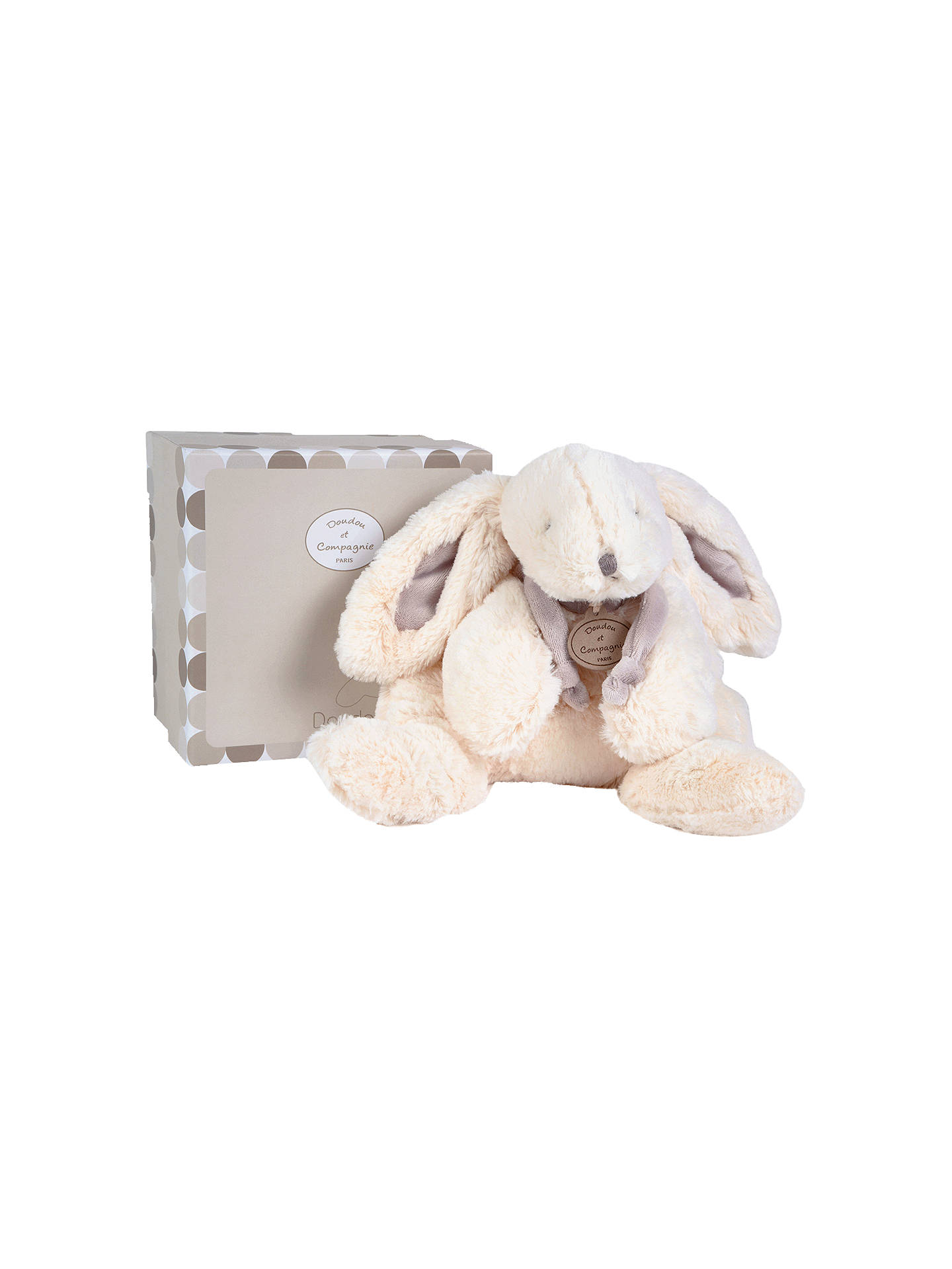 BuyDoudou et Compagnie Bonbon Rabbit Soft Toy, Brown Online at johnlewis.com
