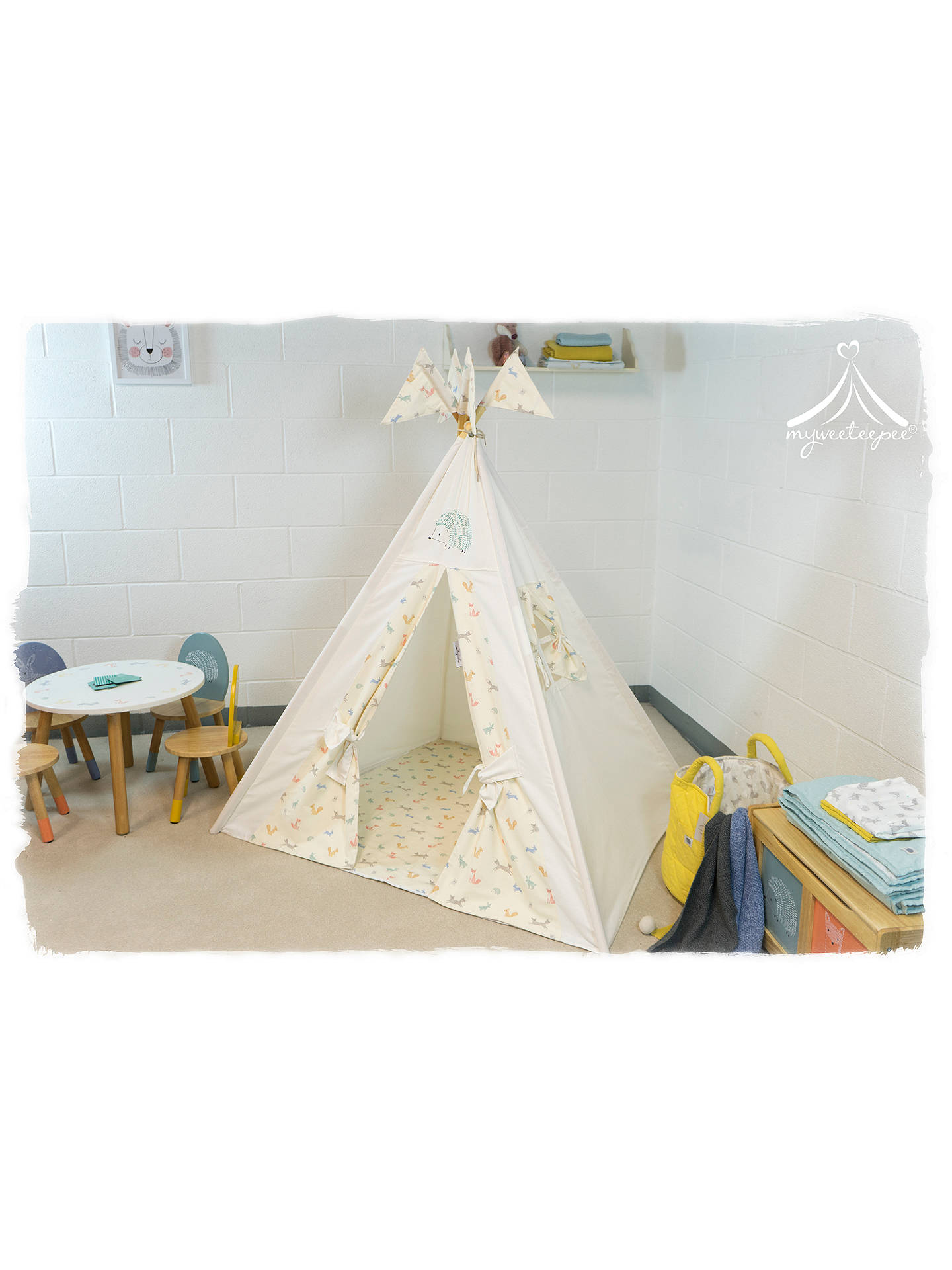 BuyMyweeteepee Forest Friends Teepee Online at johnlewis.com