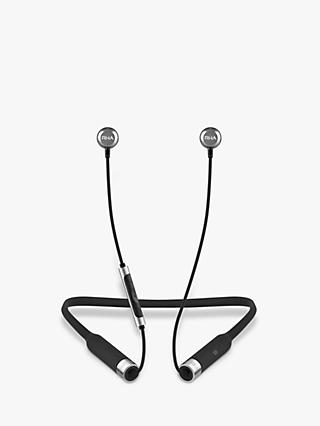 RHA MA650 Wireless Bluetooth NFC In-Ear Headphones with High Resolution Audio & Mic/Remote, Black