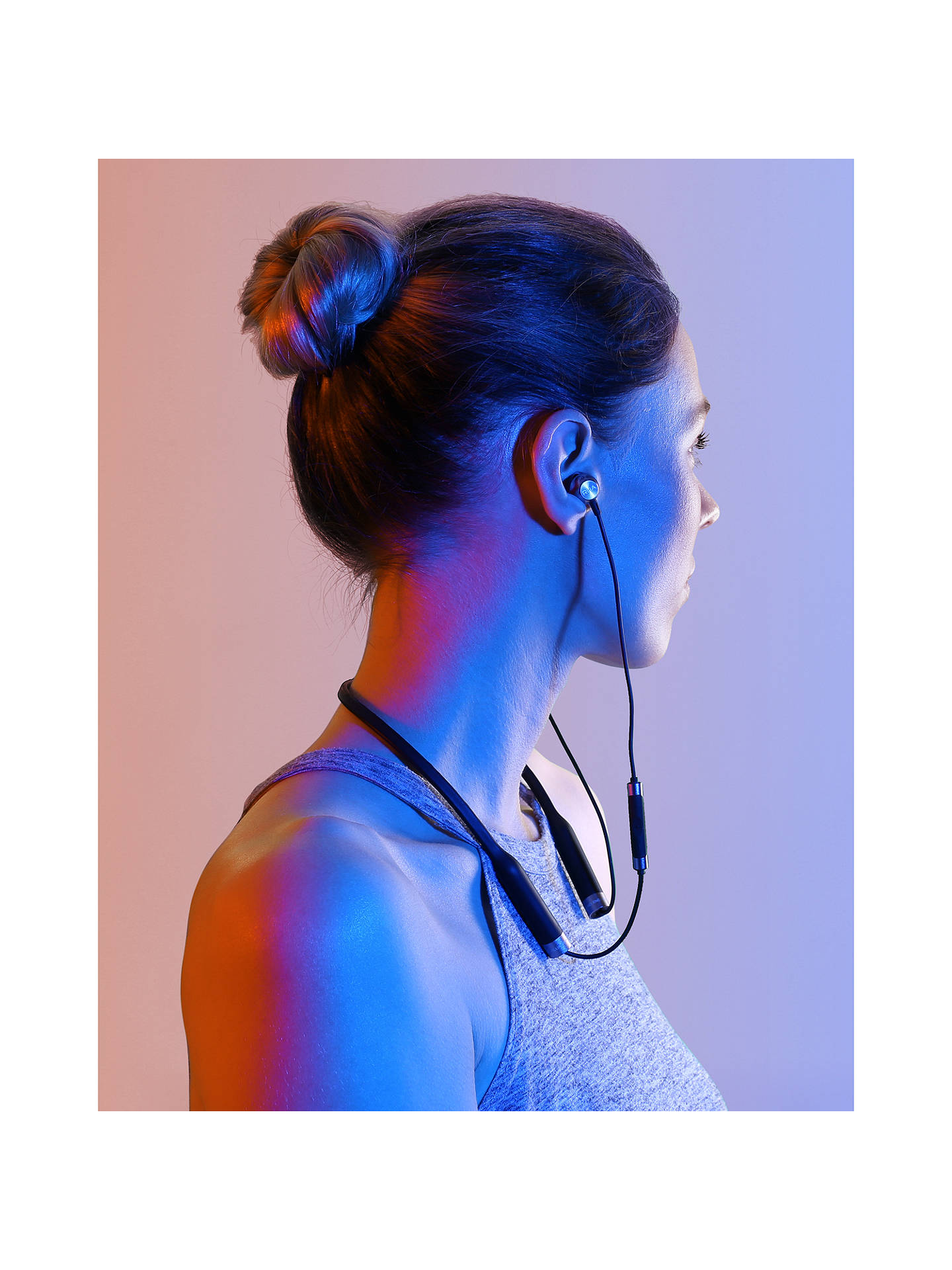 BuyRHA MA650 Wireless Bluetooth NFC In-Ear Headphones with High Resolution Audio & Mic/Remote, Black Online at johnlewis.com