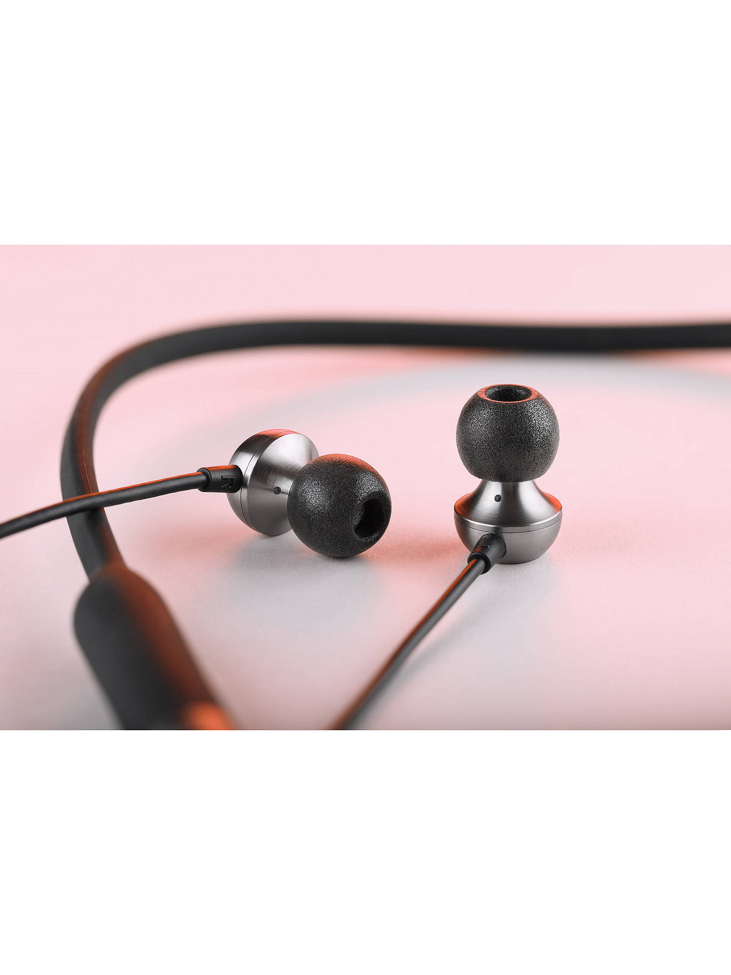 Buy RHA MA650 Wireless Bluetooth NFC In-Ear Headphones with High Resolution Audio & Mic/Remote, Black Online at johnlewis.com