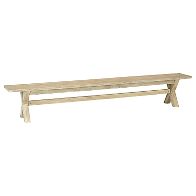 KETTLER Cora Outdoor Bench, 270cm, FSC-Certified (Acacia Wood), Natural