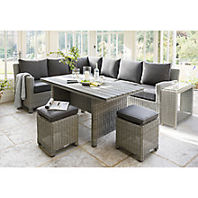 Buy KETTLER Palma 8 Seater Corner Garden Lounge Set Online at johnlewis.com