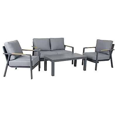 KETTLER Paros 4 Seater Garden Lounge Set, Grey