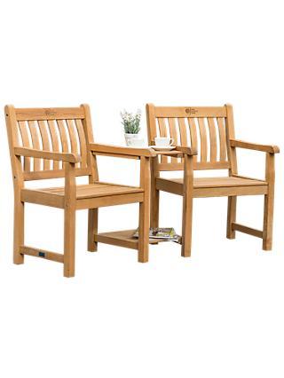 a63ebd40cf7e KETTLER RHS Chelsea Garden Companion Seat, Natural, FSC-Certified (Acacia  Wood)