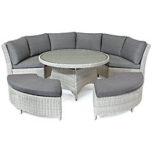 Buy KETTLER Palma 8 Seater Round Outdoor Dining Table and Chairs Set Online at johnlewis.com