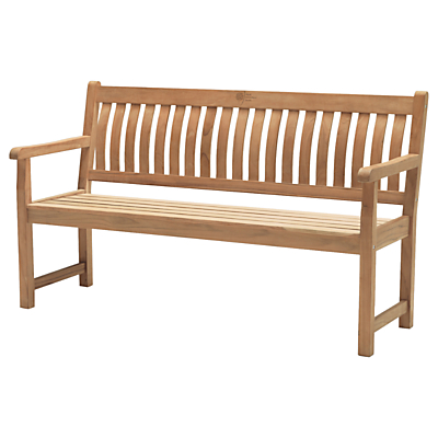KETTLER RHS Chelsea 5ft Bench, Natural, FSC-Certified (Acacia Wood)