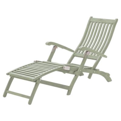 KETTLER RHS Outdoor Steamer Chair FSC-Certified (Acacia Wood), Sage