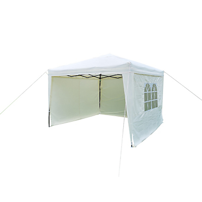 LG Outdoor Hamilton Pop Up Gazebo Side Walls, Cream