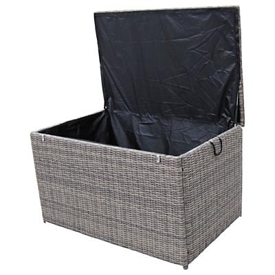 LG Outdoor Marseille Cushion Storage Box, Natural