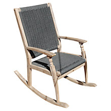 Buy LG Outdoor Panama Single Rocker Chair, FSC-Certified (Acacia Wood) Online at johnlewis.com