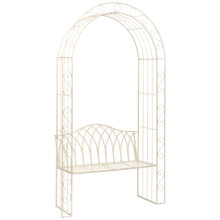 Buy Suntime Gloucester Arch and Bench, White Online at johnlewis.com