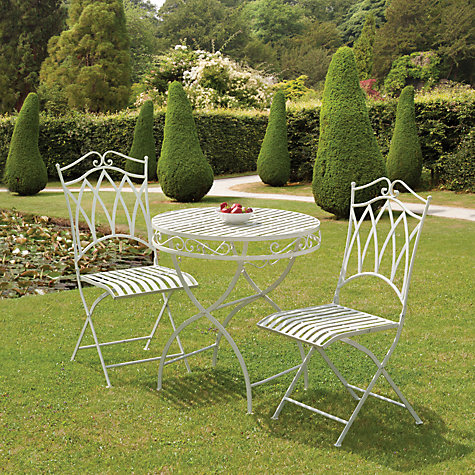 Buy Suntime Gloucester 2 Seater Outdoor Bistro Dining Table And Chairs Set White Online At