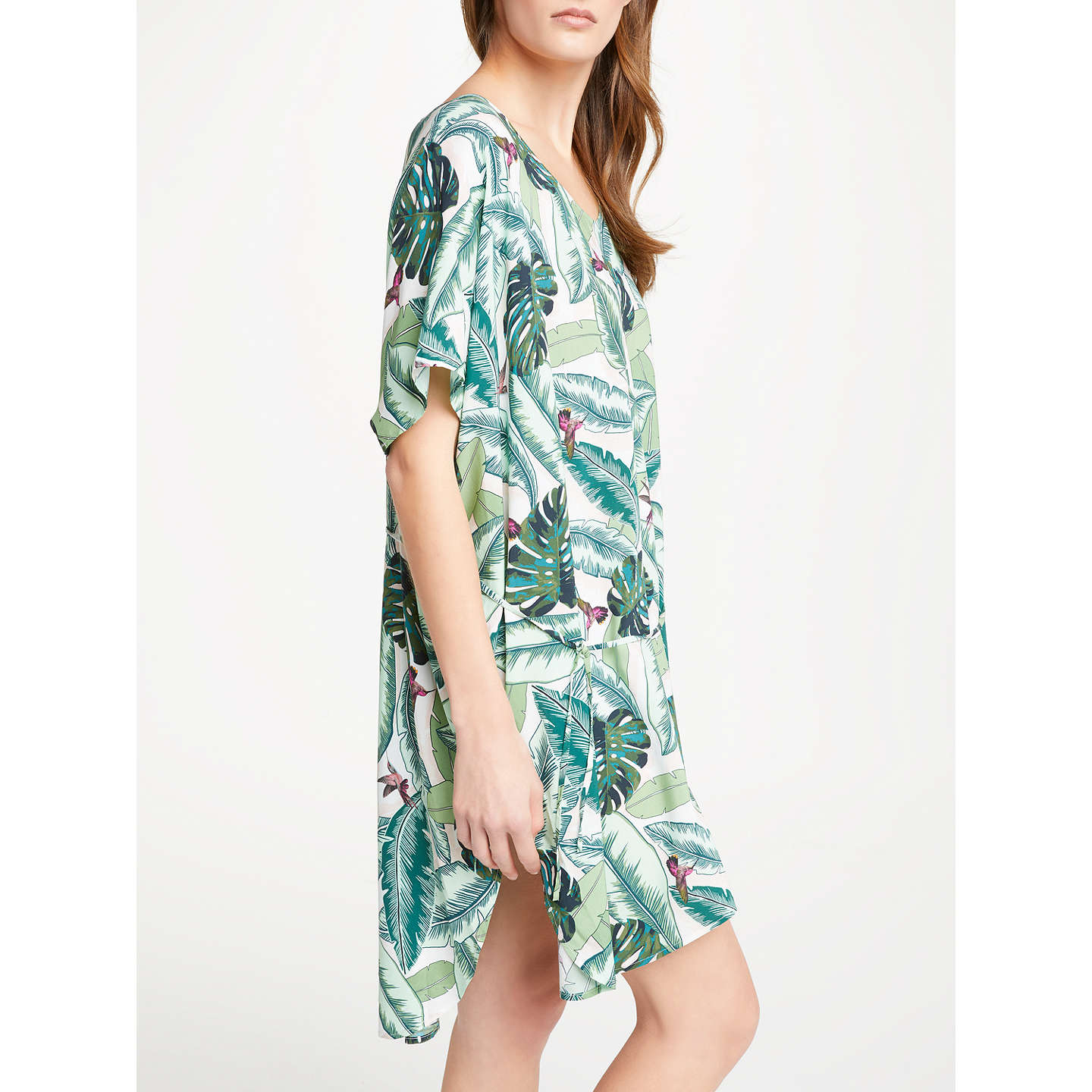 BuySeafolly Palm Beach Kaftan, Moss Online at johnlewis.com