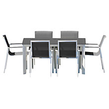 Buy Westminster Madison Rectangular 6 Seater Garden Dining Set Online at johnlewis.com