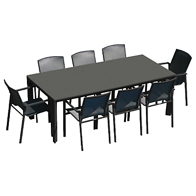 Westminster Madison Rectangular 8 Seater Garden Dining Set