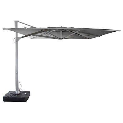 Westminster Sunrise Parasol 4 x 3m, Grey
