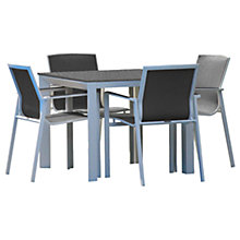Buy Westminster Madison Square 4 Seater Table Garden Dining Set Online at johnlewis.com
